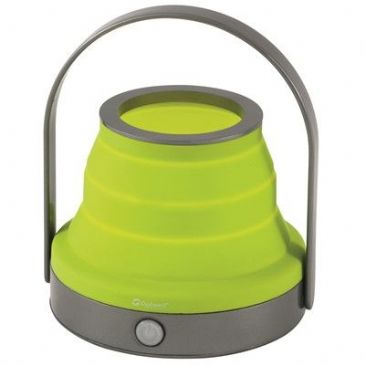 Outwell Collaps Collapsible table lamp DORADUS LIME GREEN